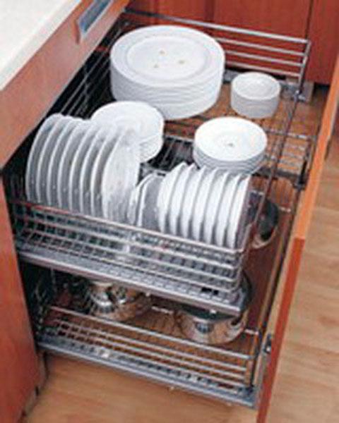 Сушка для посуды внизу