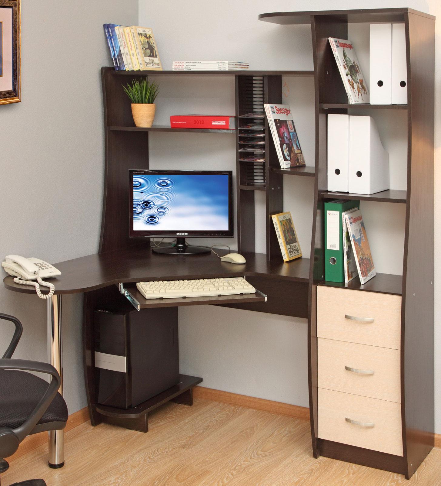Компьютерные столы на заказ, заказать компьютерный стол.